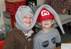 View the '2012 Crazy Hat Day' album.